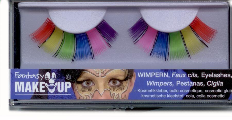 wimpern zum ankleben regenbogen karnevalsshop bastian. Black Bedroom Furniture Sets. Home Design Ideas