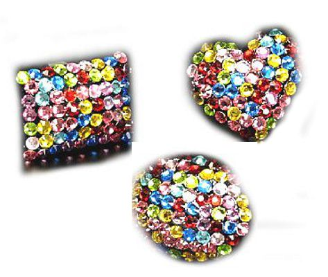 Ring bunter Strass