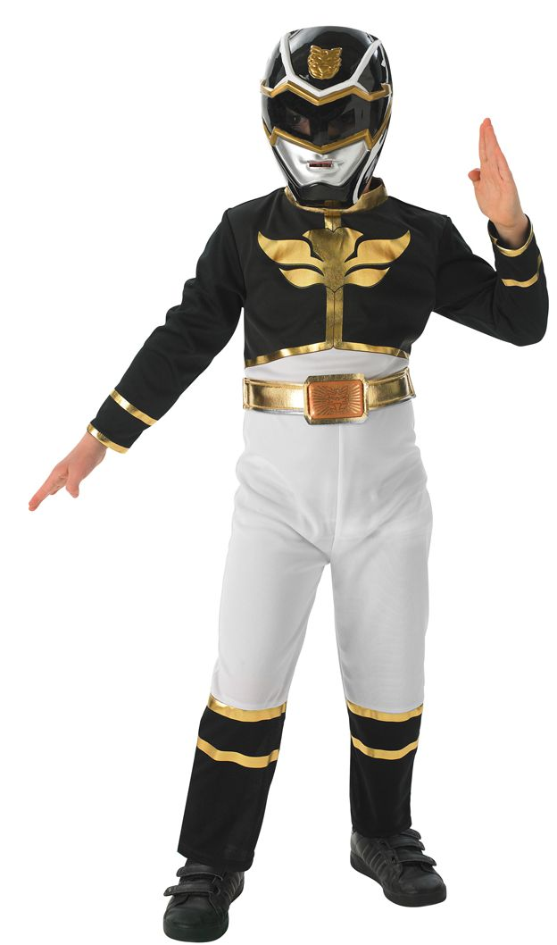 Black Power Ranger ´Megaforce´  Kind Größe M