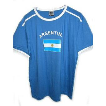 T-Shirt Nationen Argentinien