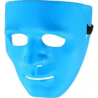 Maske blau - Blue Man Group Kunststoff