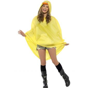 Poncho Party Ente