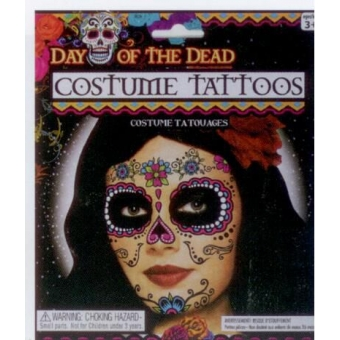 Tattoo Lady Day of the Dead
