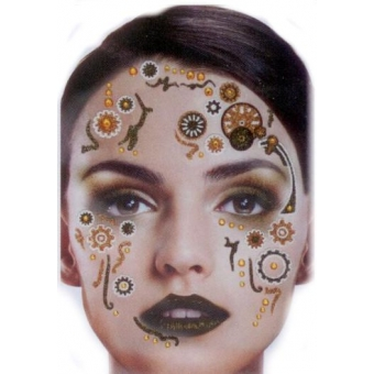 Tattoo Glitter Steampunk