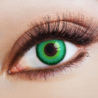 Kontaktlinsen Magic green Eye