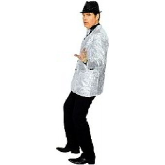 Jacket Showtime silber  Pailletten
