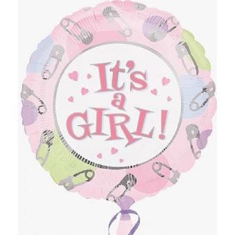 Ballon Folie Thema It´s a Girl
