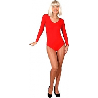 Body Luxe Langarm Farbe rot  S/M