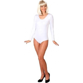 Body Luxe Langarm Farbe weiss S/M