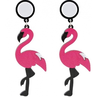 Ohrringe Flamingo mit Stecker